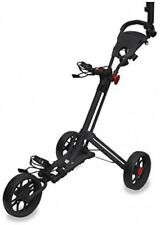 Longridge Unisex Eze Glide 3g Smart Fold Trolley, Black