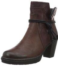 Rieker  2 Women's Y1562 Ankle Boots Red (Vinaccia/Bordeaux/36) 8 UK 42 EU #