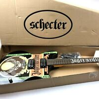 Brand New in Box Schecter Tempest Jagermeister Black Electric Guitar