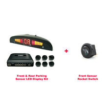 Cisbo Parking Reversing Front and Rear 6 Sensors LED Display System With Switch