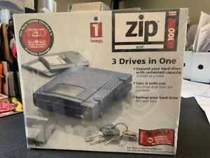 iomega zip 100 usb external drive -NEW