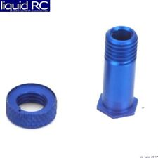 Associated 9156B Servo Saver Hub & Collar Blue RC10b3/RC10b2/T3