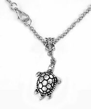 Turtle necklace turtle chain necklace tortoise necklace best jewelry gift