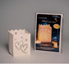 Luminaria Mini Lichttüten Love Herzen Herz Teelicht Lichttüte Licht Tüte Kerze