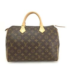 100% Authentic Louis Vuitton Monogram Speedy 30 Boston Travel Hand bag / pEHX x