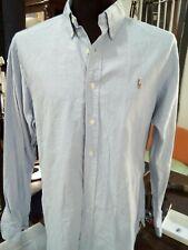 Ralph Lauren Camicia Uomo Shirt Casual Cotone Manica lunga Chemise Taglia XL