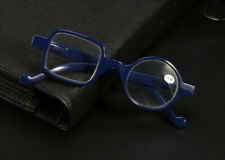 Asymmetric Round&Square Reading glasses PC for reader +1.0 to 3.5 diopter Black