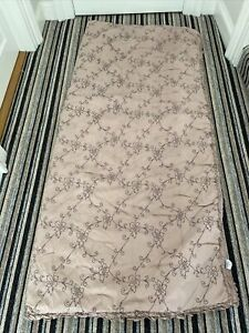Laura Ashley Quilted Pink Double Bed Throw