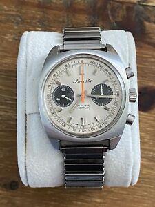 Rare Precista Mens Chronograph Watch - Valjoux 7733 Movement