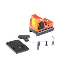 RMR Adjustable Reflex Red Dot Sight 3.25 MOA Scope for Hunting Fit 20mm Orange