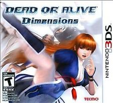 Dead or Alive: Dimensions (Nintendo 3DS, 2011) NEW