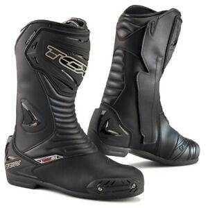 TCX S-Sportour Evo WP Motorcycle Boots: Black: Sizes Available