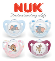 Nuk Disney Classic Soother Silicone BPA Free Pacifier Bambi Dumbo 2pcs