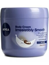 Nivea Irresistibly Smooth Body Cream Dry Skin Shea Butter 400 ml 13.5oz