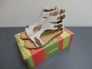 Women's Bare Traps Kinder Gladiator Sandals, Bone (Beige), US Size 8 M, NWB