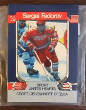 1991 National Team of The USSR HOCKEY Team UNOPENED Set MINT Condition H801720