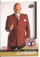 2008-09 Upper Deck UD Don Cherry Heroes #15 NHCD National Hockey Card Day Mint