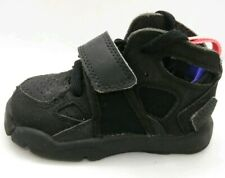 Nike Huarache Run Infant Toddler Baby Boys Size 5 C Black Trainers Girls