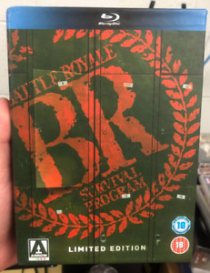 Battle Royale - Blu-Ray - Arrow Video - Limited Edition Boxset - Region Free