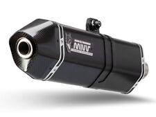 COMPLETE EXHAUST MIVV INOX BLACK KYMCO AK550 17-