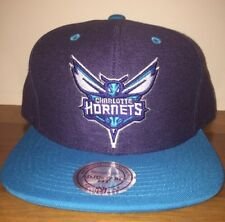 Charlotte Hornets Mitchell and Ness SnapBack Cap Hat NEW