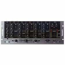 """Dj Numark C3 Usb Disco Móvil Profesional 5 canales 19"""" Mezclador de rack con USB de E/S"""