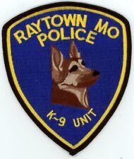 RAYTOWN POLICE MISSOURI MO K-9 PATCH SHERIFF