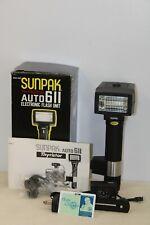 NEW Sunpak Auto Electronic Flash - Thyristor 650-691 Electronic Flash Unit