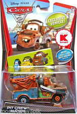 Disney Pixar Cars 2 Pit Crew Mater With Headset Headphones K-mart Exclusive 1:55