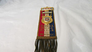 1892-96  Jr.O.U.A.M Medal and Ribbon