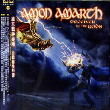 Amon Amarth: Deceiver of the Gods (2013) CD OBI TAIWAN SEALED