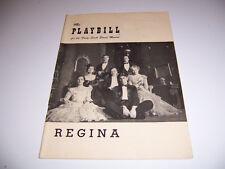 1949 FORTY-SIXTH ST THEATRE PLAYBILL - REGINA -JANE PICKENS LILLYN BROWN HEPBURN