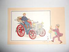 ANCIENNE IMAGE VOIR ET SAVOIR 1955 / TINTIN AUTOMOBILE SERIE 9 N°39