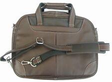 Notebook- / Laptop-Tasche, Leder braun, Business - Aktentasche, Aktenmappe