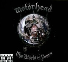 World Is Yours [Bonus DVD] [PA] by Motörhead (CD, Feb-2011, 2 Discs, UDR)