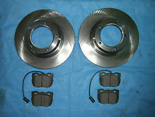 Brake disc rotors & brake pads (rear) for ex Army Land Rover Perentie 6 x 6