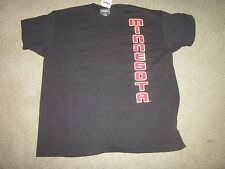 Minnesota Golden Gophers 2 sided tee t-shirt Size large-NWT