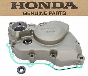 Left Stator Engine Cover CRF450 R 04-08 (w/ Gasket & Seal) Genuine Honda #o13
