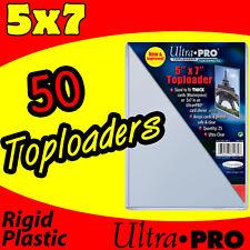 50 ULTRA PRO 5x7 RIGID TOP LOAD PHOTO HOLDER SLEEVES 81184-50