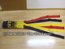 Fahnen Flagge Windsack Deutschland  Adler - 15 - 160 cm