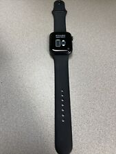 Apple Watch Series 6 44mm Space Gray Aluminum GPS ONLY- - READ