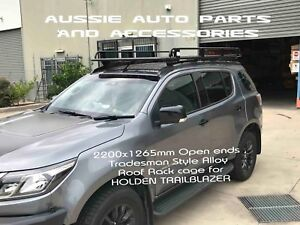 Tradesman Style ALLOY Roof Rack 2200x1265mm for HOLDEN Trailblazer 2016 On