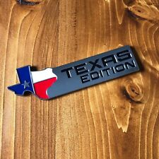 New - Texas Edition™ Chrome Tailgate Emblem Badge Chevy GMC Ford F-150 250 350