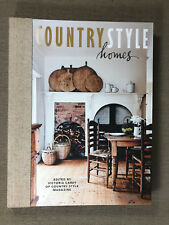 Brand New Country Style Homes Soft Cover Book by Victoria Carey Harper Collins