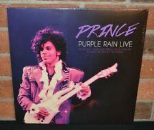 PRINCE - Purple Rain Live 1994, Ltd Import 2LP PURPLE COLOR VINYL Gatefold New!