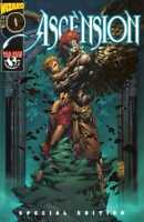 Ascension 0 Gold Foil Variant David Finch Witchblade Top Cow Wizard Exclusive NM