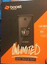 New listing Alcatel Go Flip (Boost Mobile) 4G Lte Flip Phone - Hd Voice 2Mp Camera