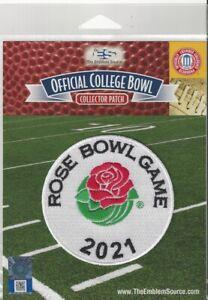 2021 Rose Bowl Patch Alabama Notre Dame Official NCAA Football Jersey Logo