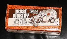 ERTL TRUST WORTHY 1932 Panel Truck Bank Limited ED. #6 Serial #2600 Die-Cast MIB