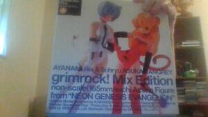ayanami rei &sohryu asuka langrey  grimrock mix edition  action figures
